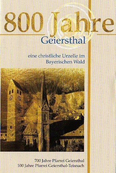 800 Jahre Geiersthal
