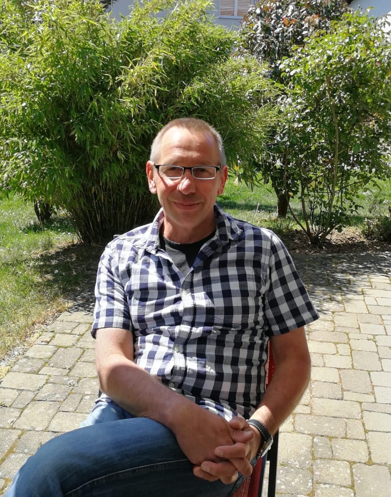 Achim Treffinger, Heimleiter Oberlin Haus