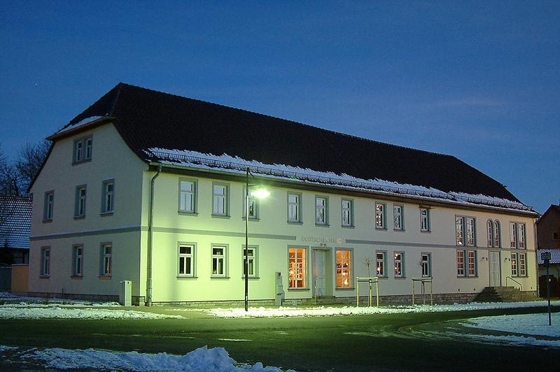Deutsches Haus in Großrudestedt