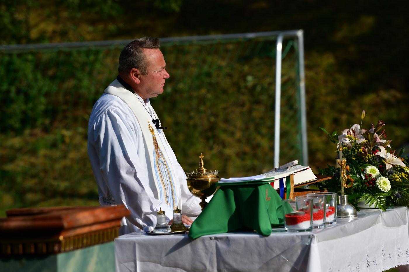 Hl. Messe in der Grünen Mitte 2