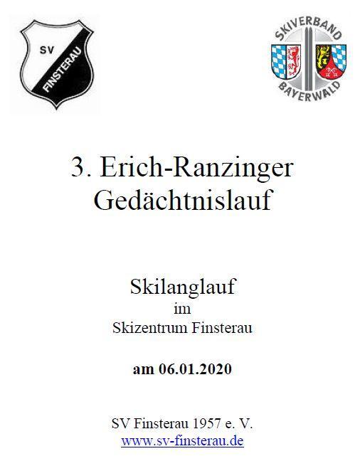 3. Erich Ranzinger Gedächtnislauf