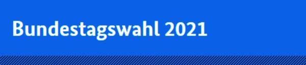Wahl zum 20. Deutschen Bundestag