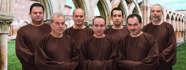 Gregorian voices in Altdöbern zum Konzert in der Kirche Altdöbern
