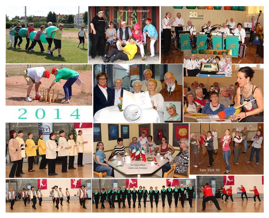 Aktive Senioren Leipzig 2014