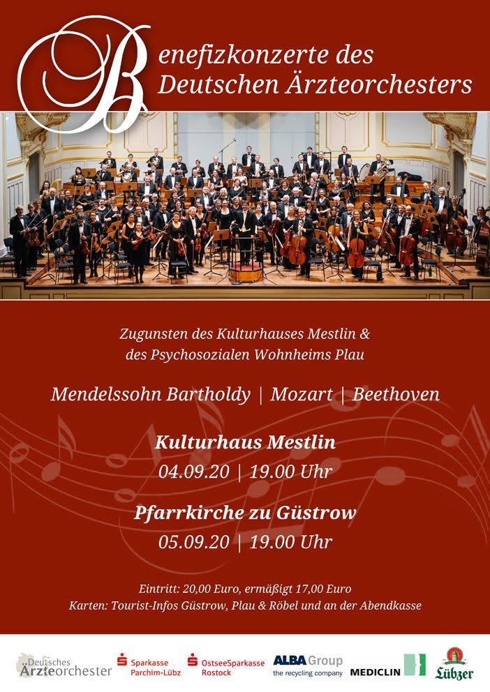 Plakat Ärtzteorchester