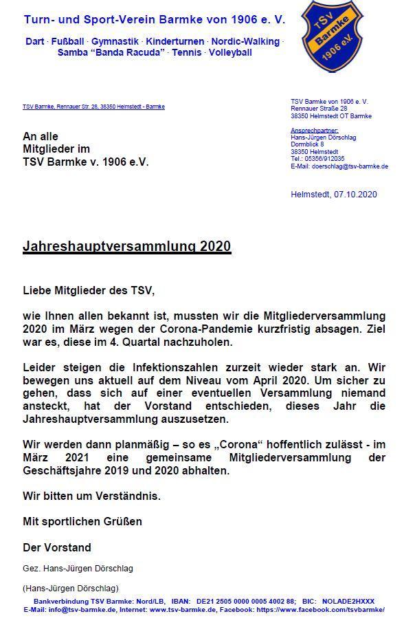 JHVS 2020