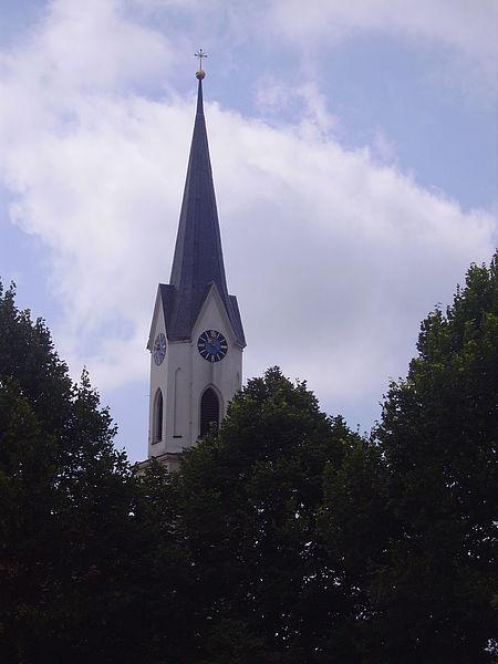 Pfarrkirche St. Ulrich in Kirn (dem Pfarramt Ering zugeordnet)
