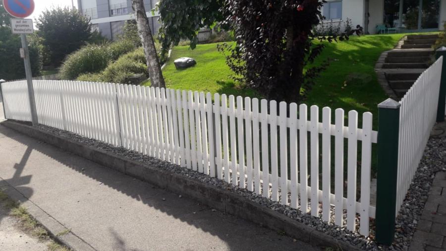 Zaun nachher