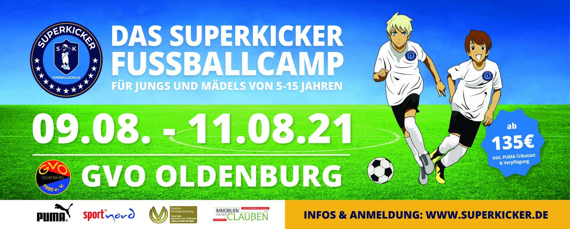 Superkicker Camp im Sportpark