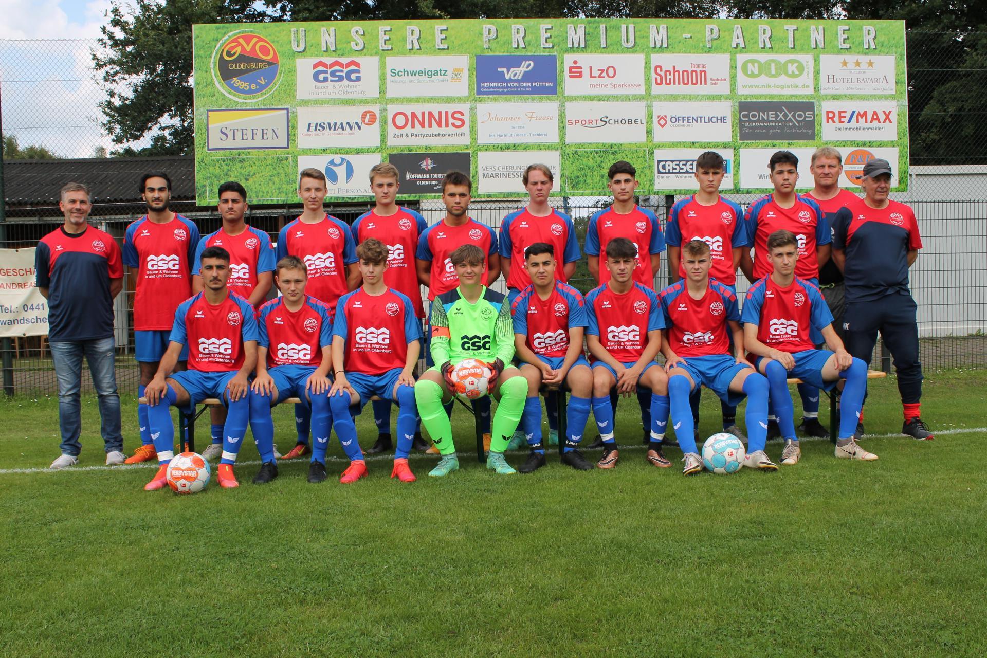 GVO U19 Saison 2021_22