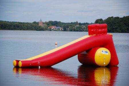Wasserrutsche Freibad Neuruppin