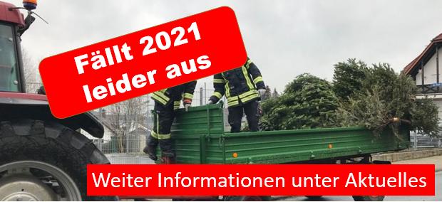 keine Weihnachtsbaumsammlung in 2021