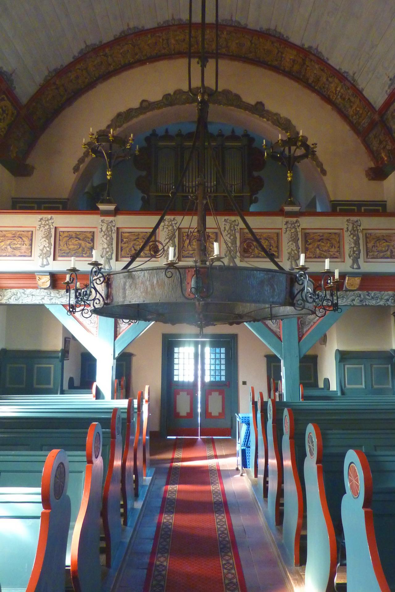 Innenansich Kirche Kienbaum, Foto: Gemeinde Grünheide