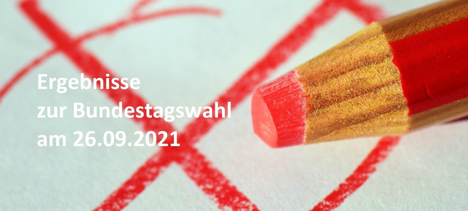 Ergebnisse zur Bundestagswahl 2021
