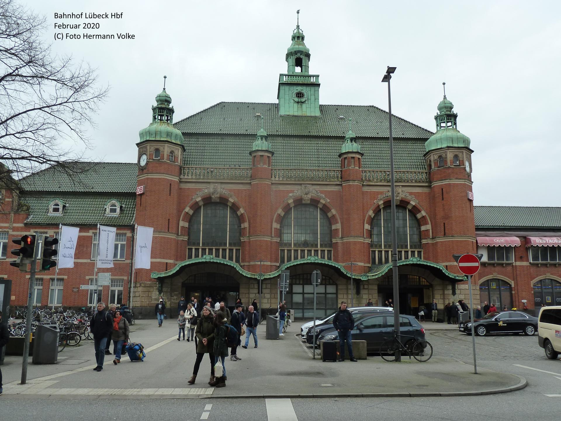 Bahnhof Lübeck Hbf