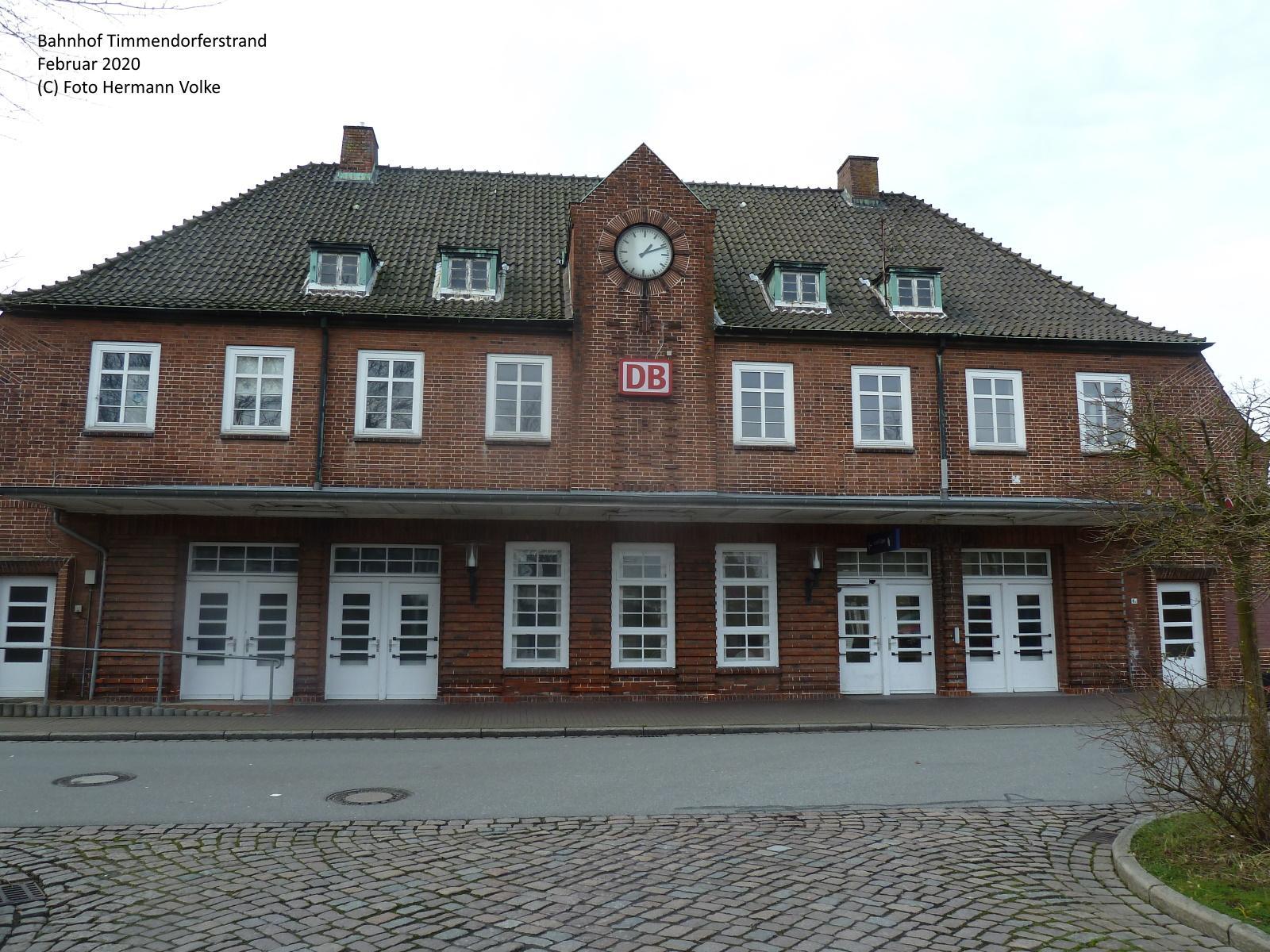 Bahnhof Timmendorferstrand