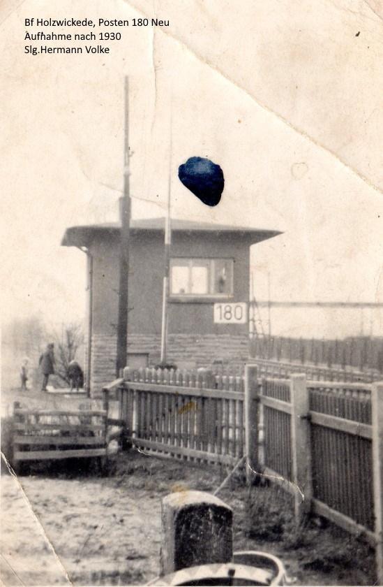 Posten 180 nach 1930