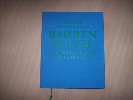 Chronik der Gemeinde Bahrenfleth und des Kirchspiels Neuenkirchen