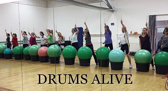 Drums ALIVE