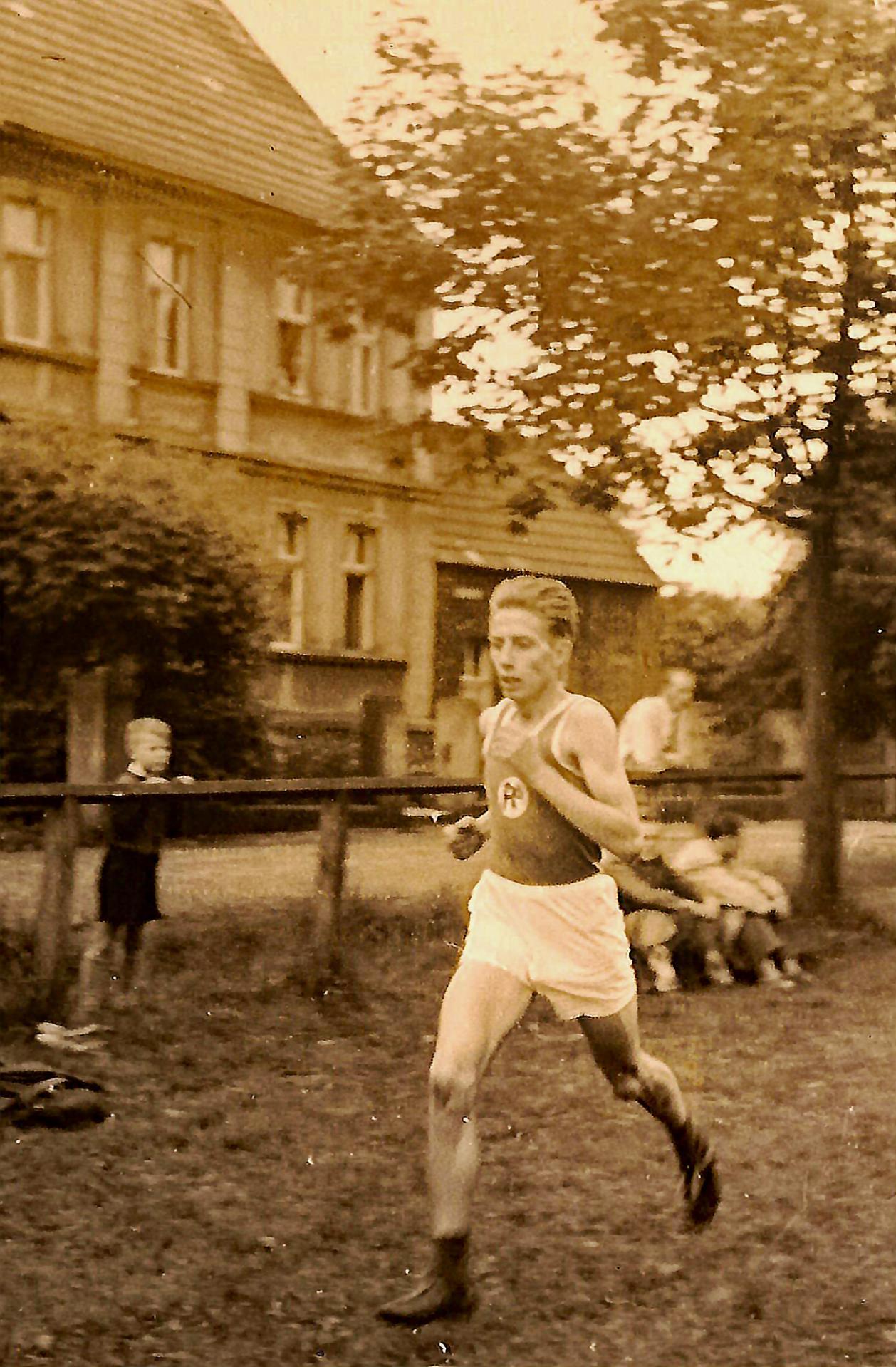 Laufen zur früheren Zeit