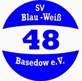 Logo vom SV Blau-Weiß 48 Basedow