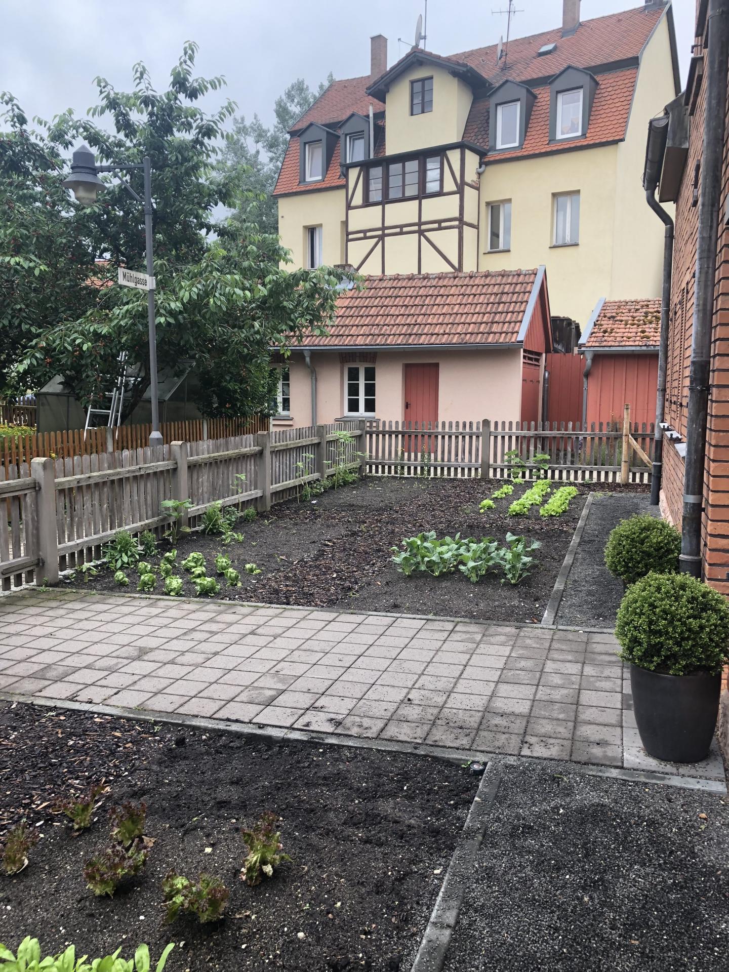 Garten Conradty Haus II