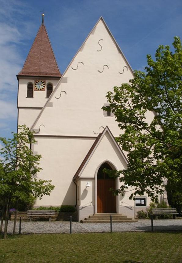 Kirche Haupteingang