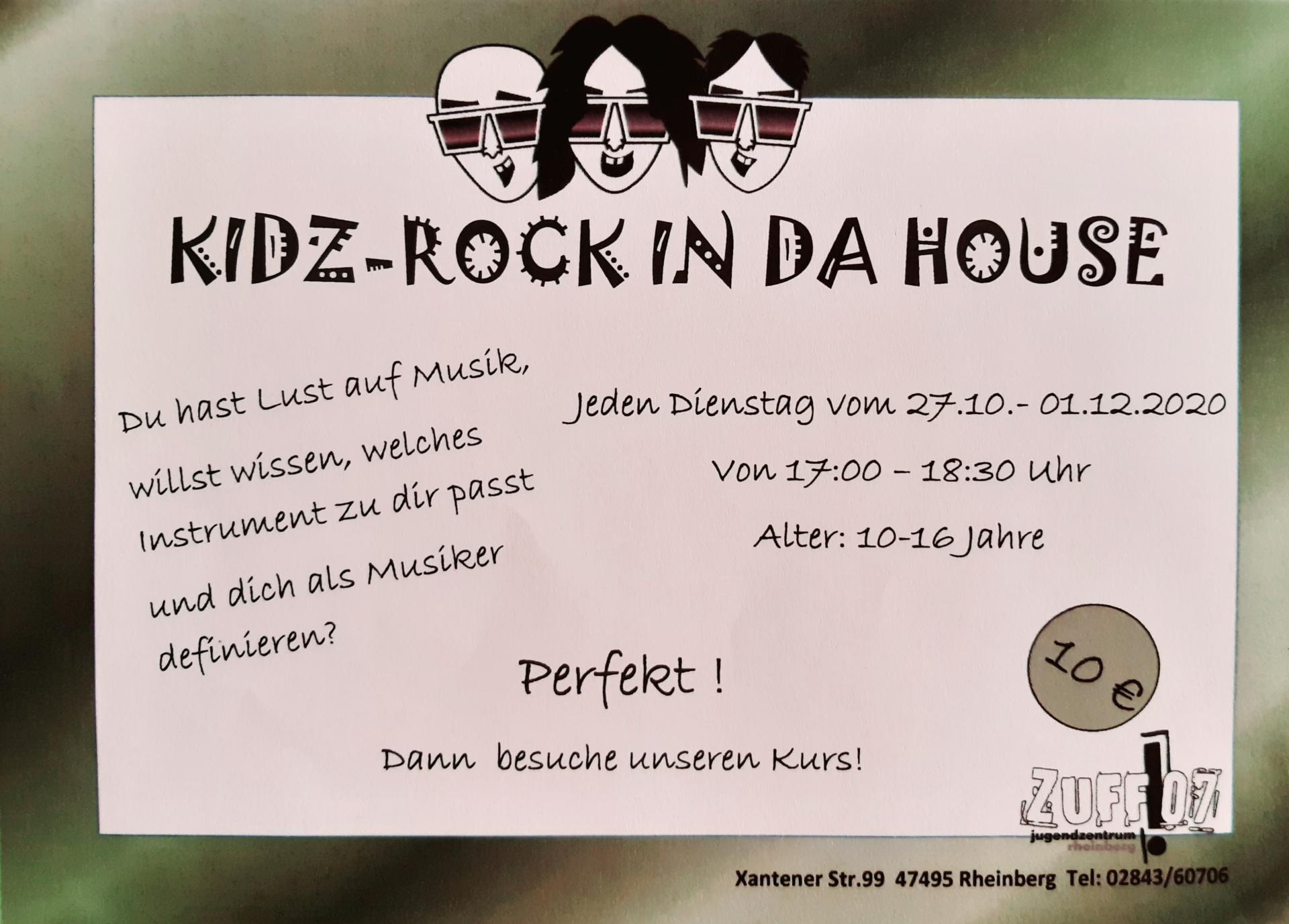 Kidz Rock In Da House