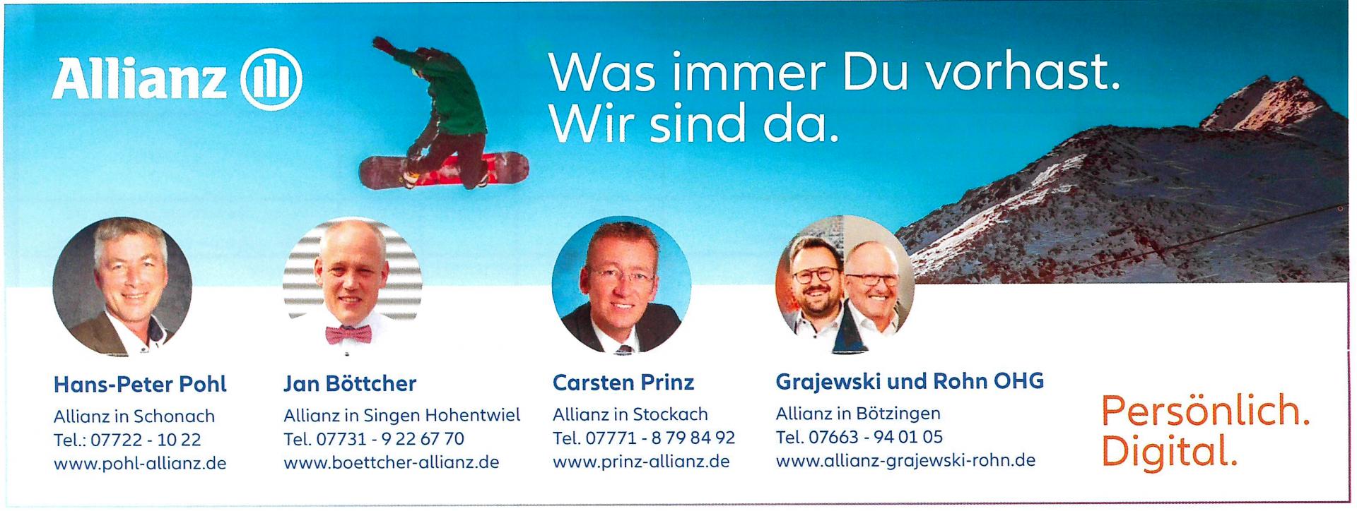 Anzeige Allianz