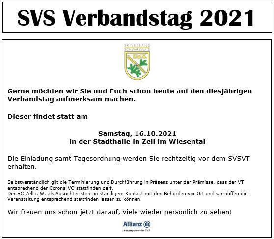 Einladung VT