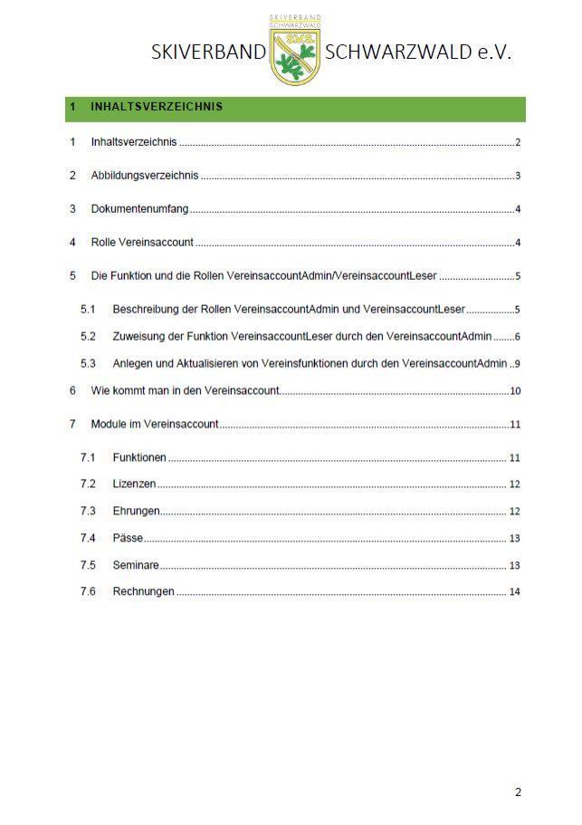 Seite2 Inhaltsverzeichnis