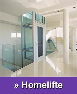 Hier gelangen Sie zu den Produkten Homelift, Aufzug und Fahrstuhl