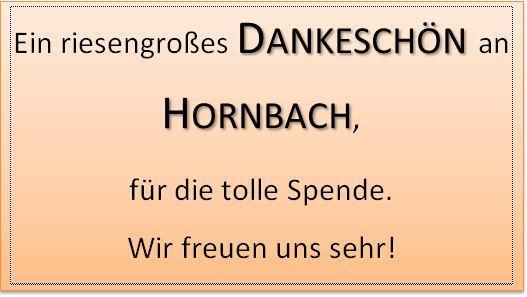 Danke Hornbach