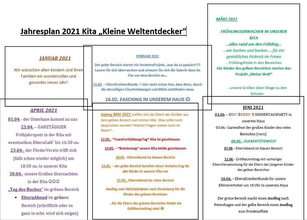 Jahresplan 1