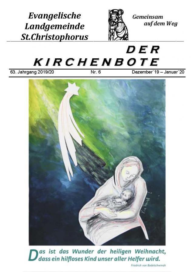 Kirchenbote Dez 19-Jan 20