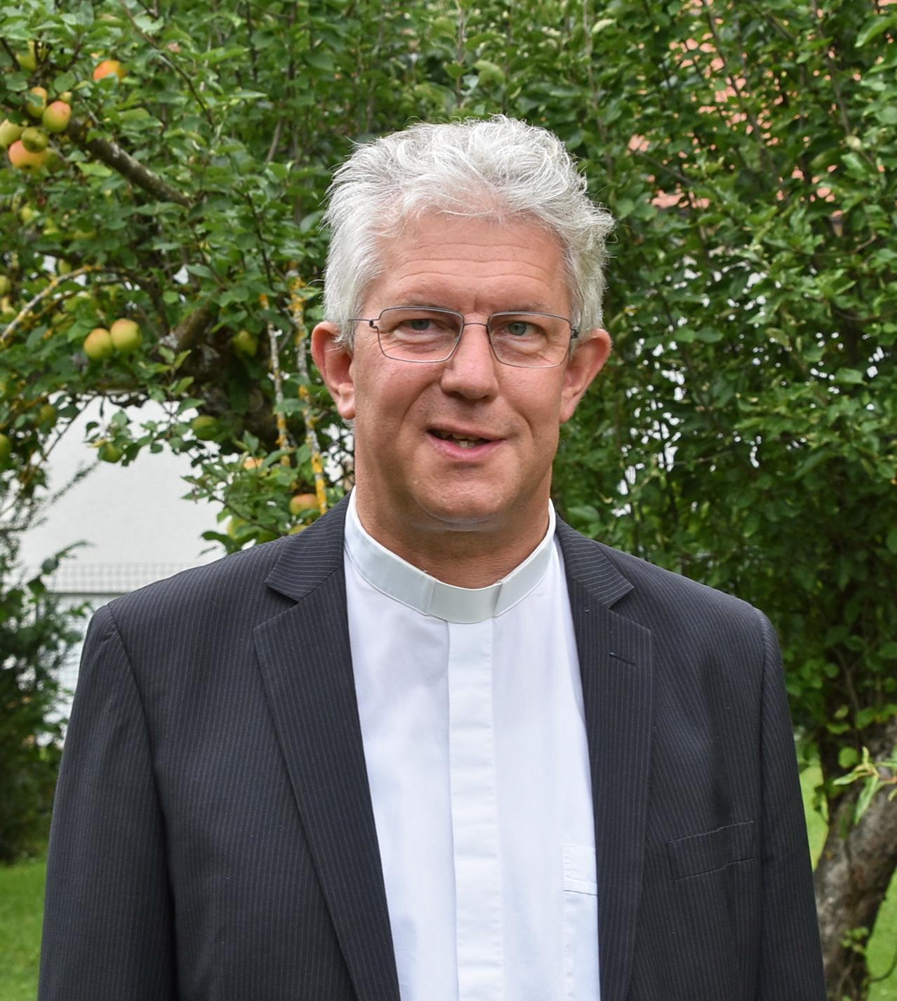 Pfarrer Peter Hauf