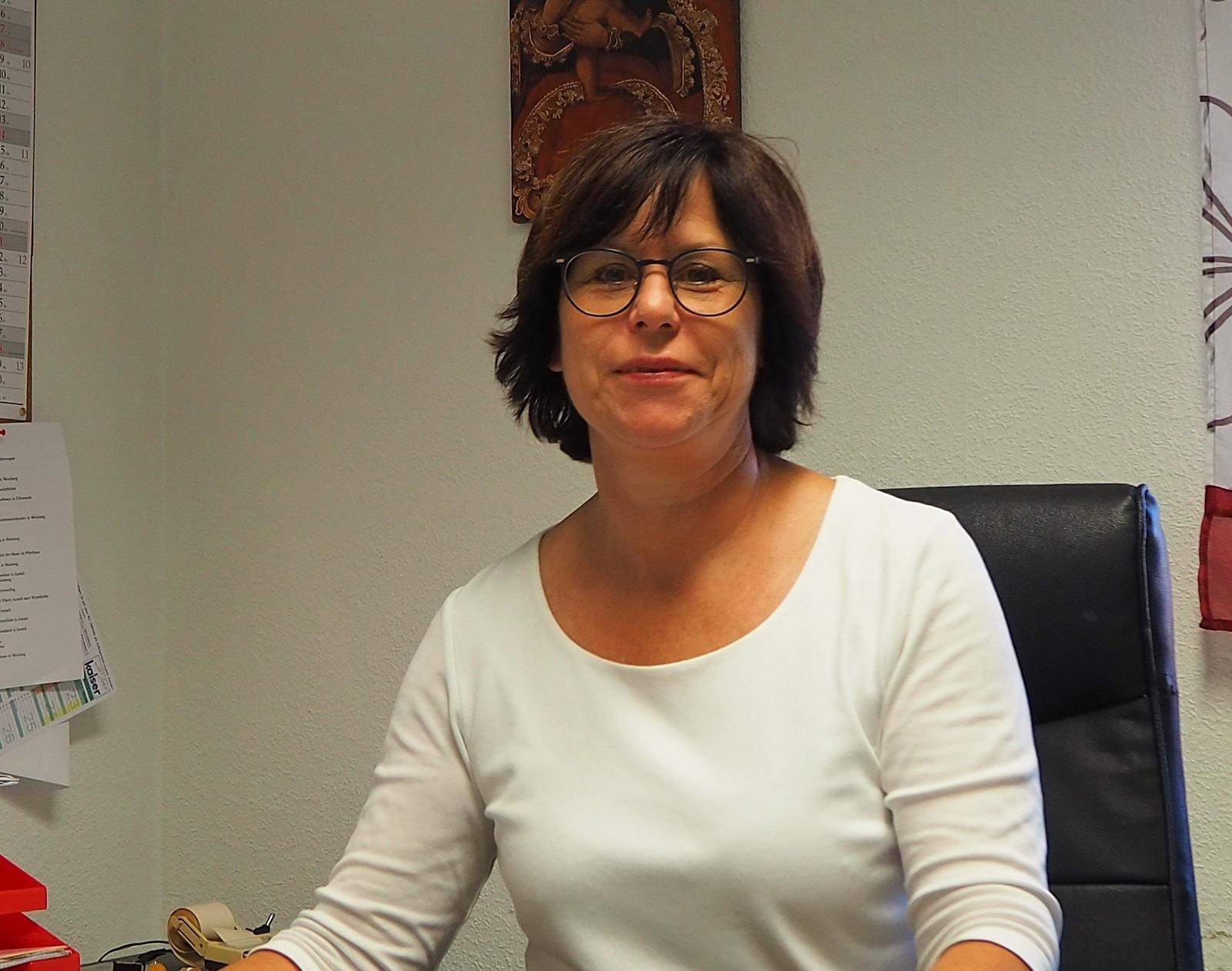 Pfarrsekretärin Jutta Sieber