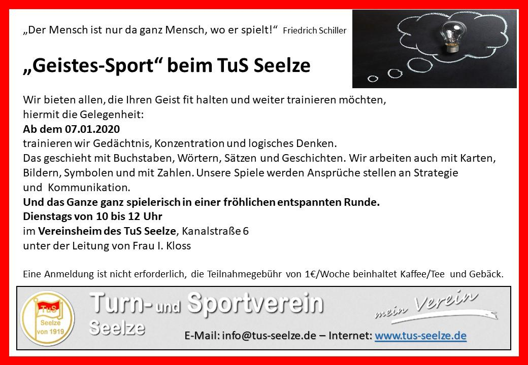 Geistessport