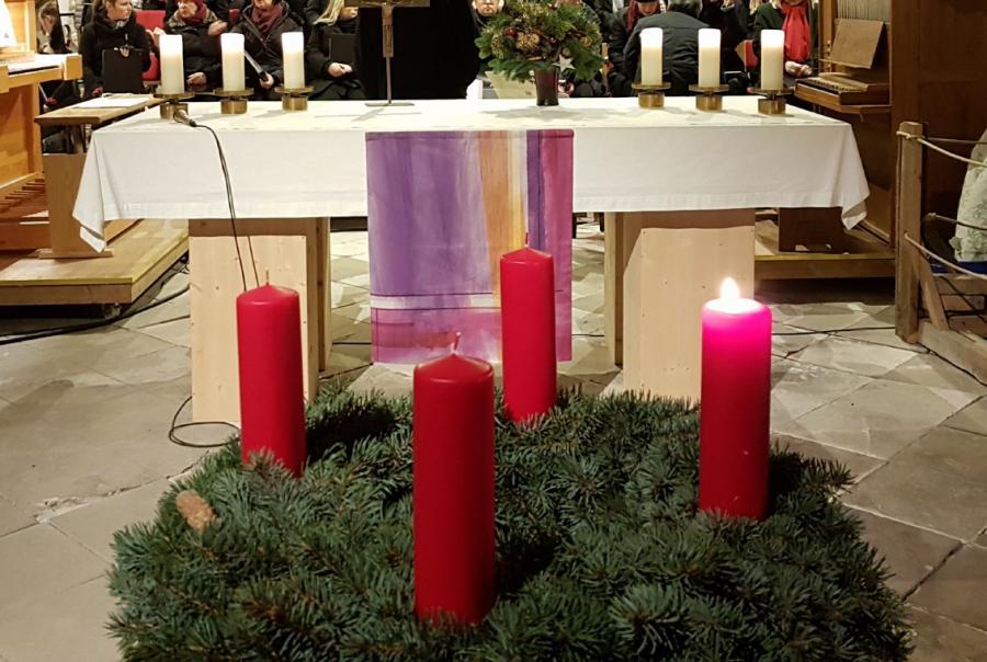 Advent in der Stadtpfarrkirche Beelitz