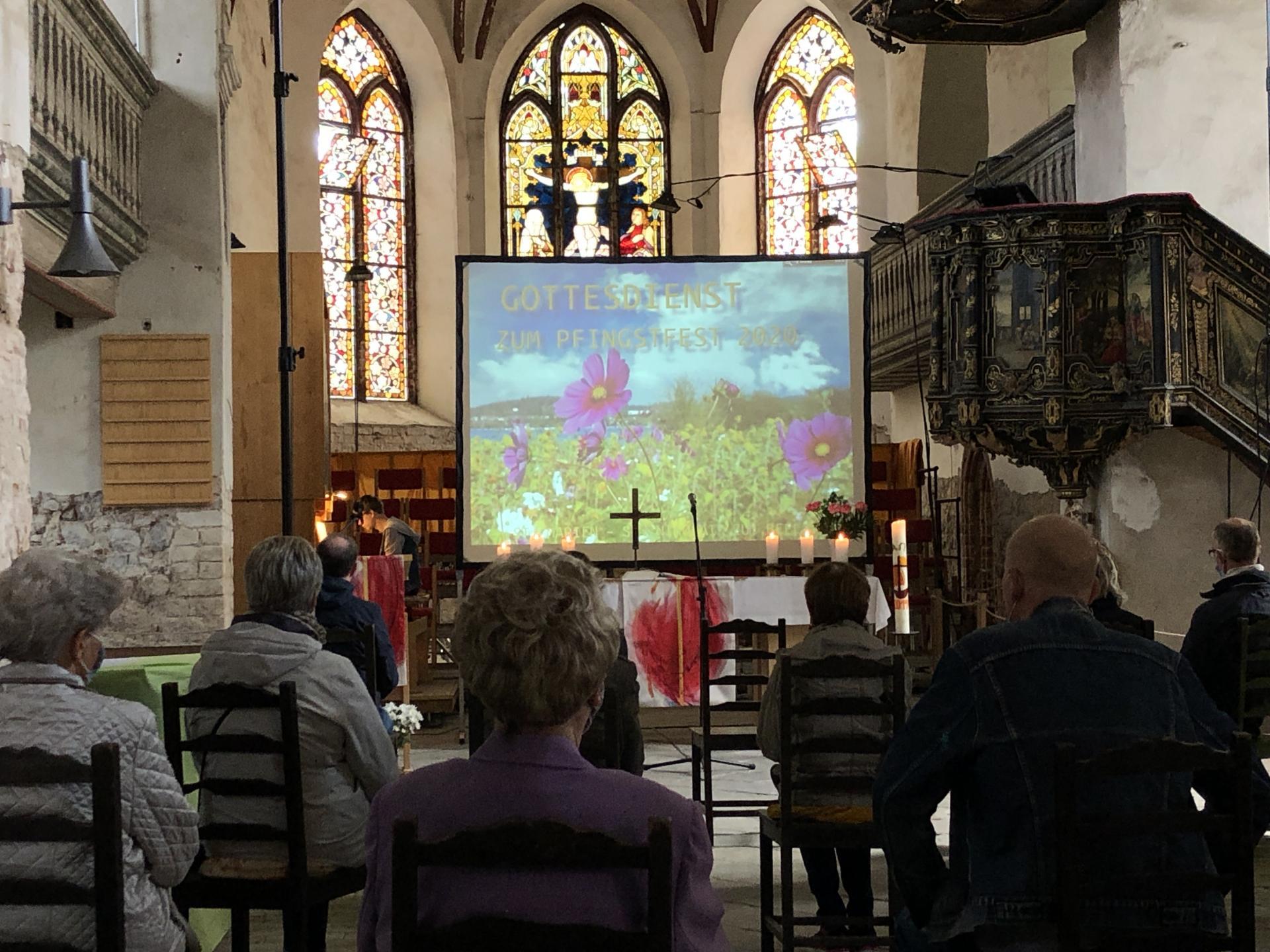 Pfingst-GD 2020 in der Stadtpfarrkirche