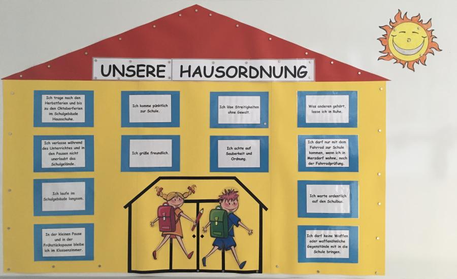 Hausordnung der Grundschule Gröden