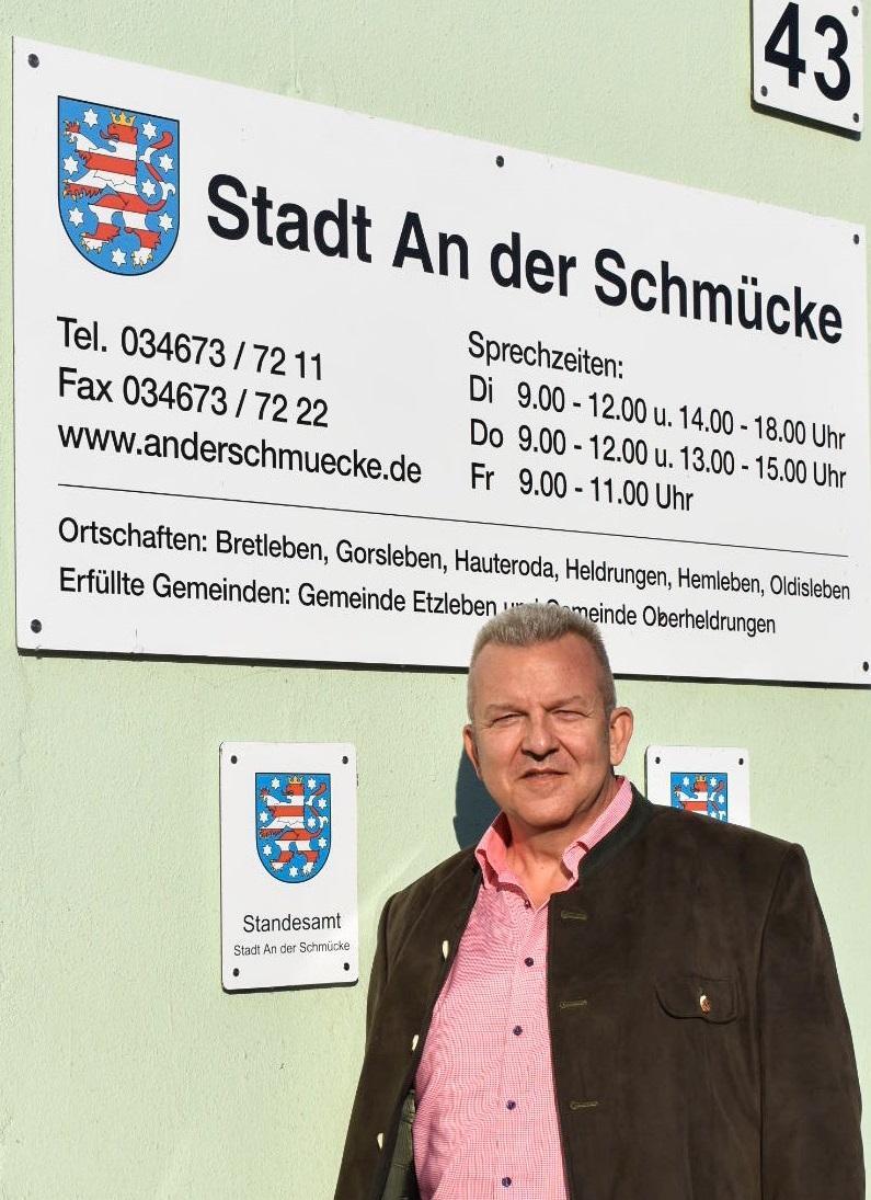 Bürgermeister Holger Häßler