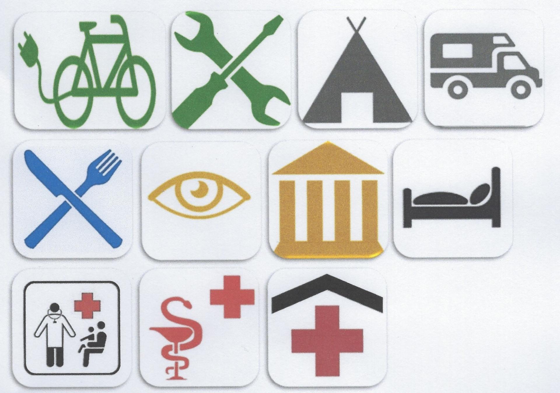 Leitfaden Service Piktogramme