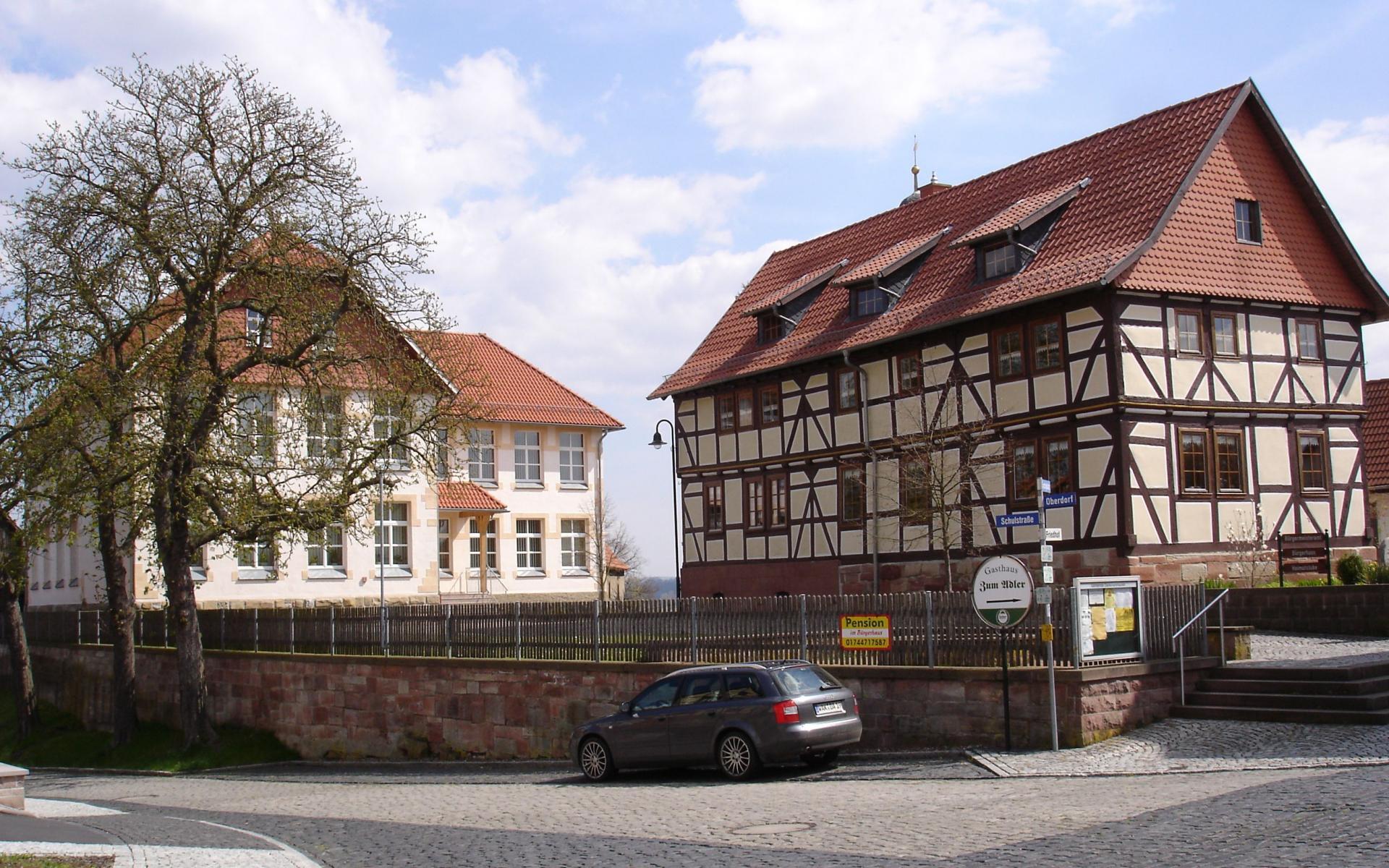 Schulhof Stadtteil Dankmarshausen