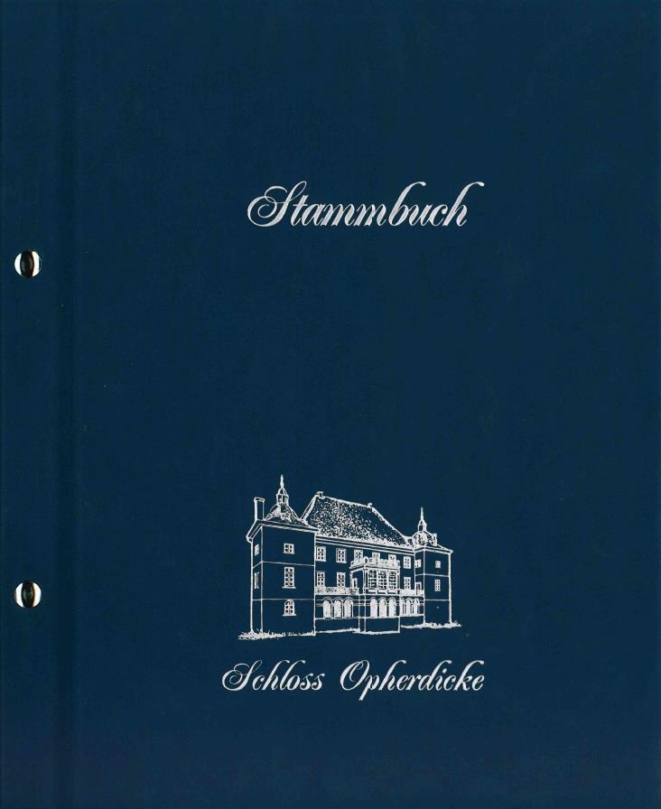 Schloss Blau A4 35 €