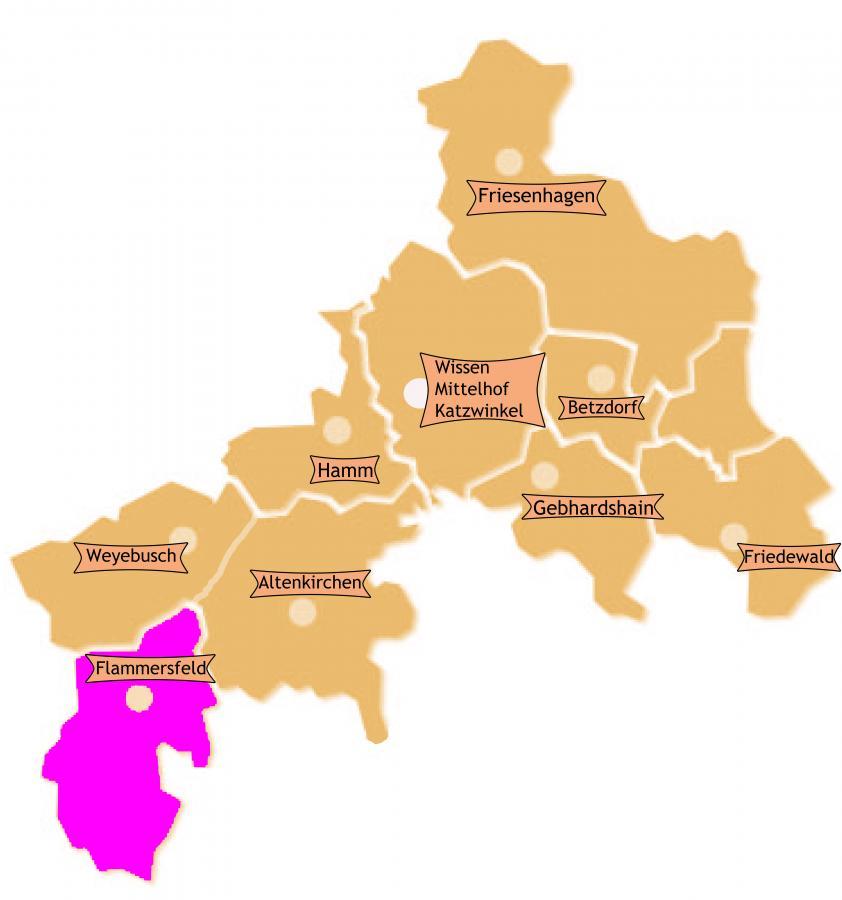 Bezirk Flammersfeld