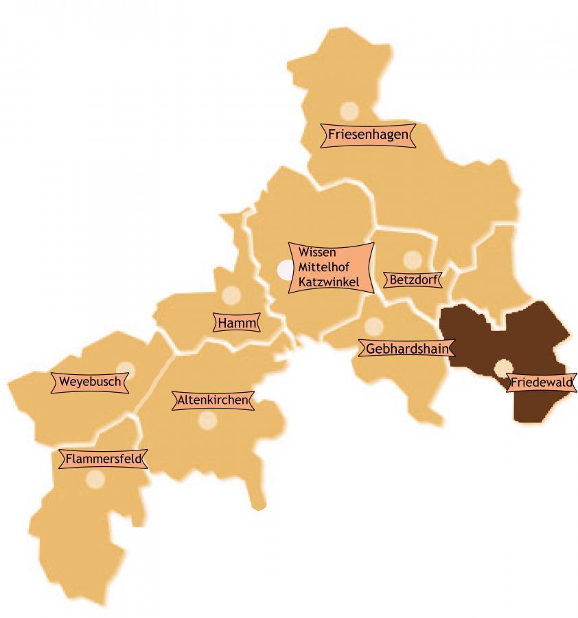 Bezirk Friedewald