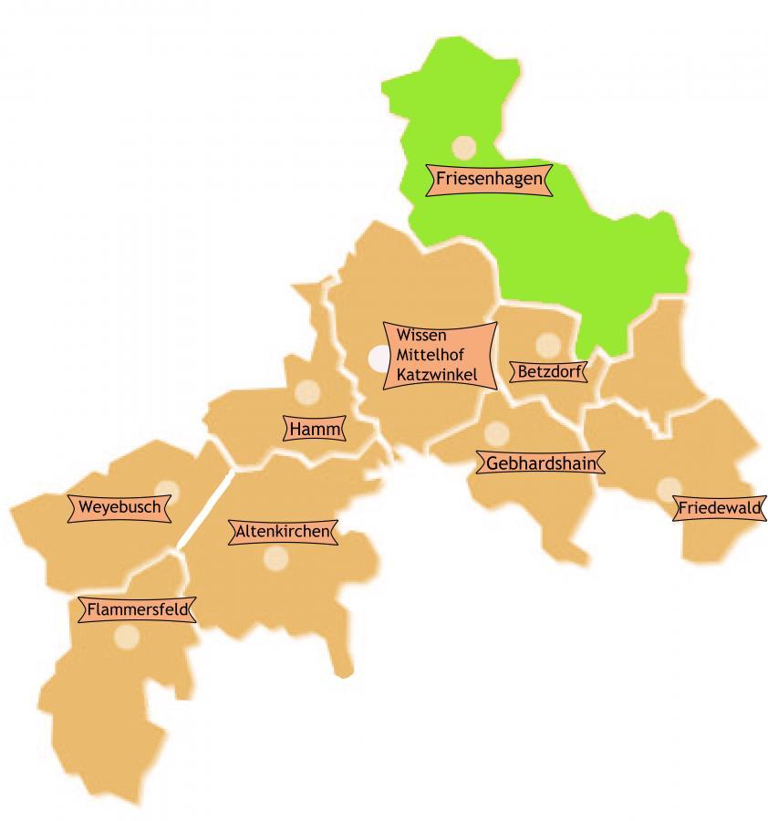 Bezirk Friesenhagen