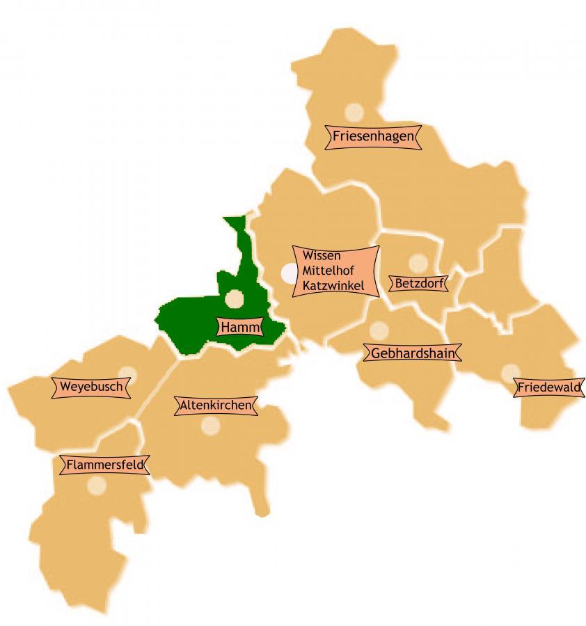 Bezirk Hamm