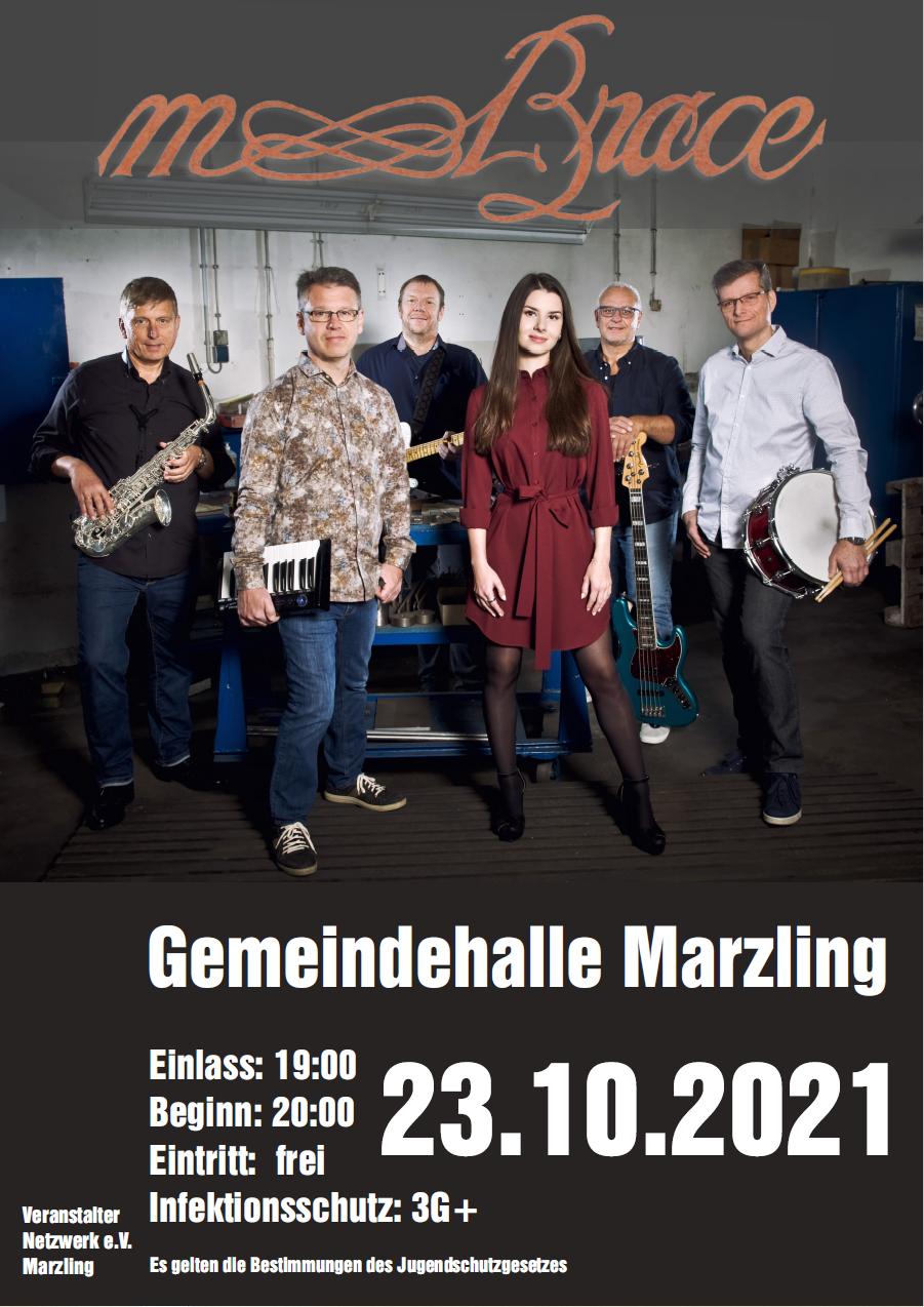 mBrace Konzert am 23.10.